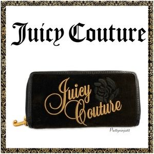 Juicy Couture Zip Around Wallet Nwt